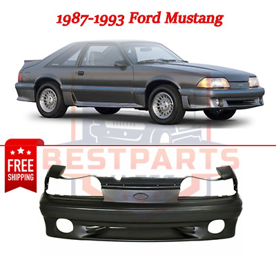 For 87-93 Mustang GT 5.0L Front Bumper Cover Assembly Primed FO1000164 F3PZ8190A