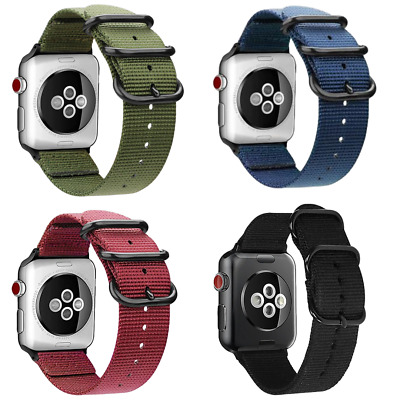 SDM Correa Apple Watch 38, 40, 42, 44mm, Series 1,2,3,4,5 Nylon