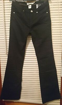 NEW H&M Girls Black Chinos - Size 12-13 years