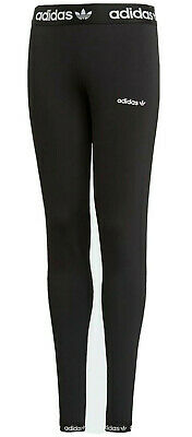 Girls ADIDAS originals Leggings black age 9 - 15 kids NEW RARE LIMITED QTY