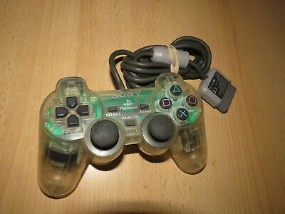 Official Sony PlayStation 1 PS1  DualShock Controller - Clear
