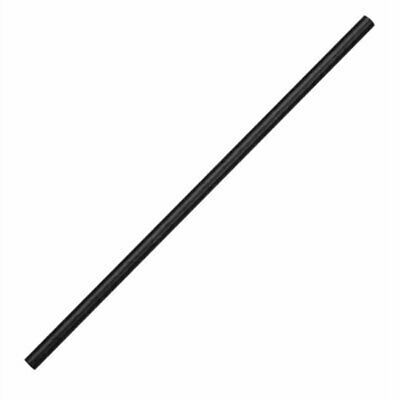 Fiesta Green Compostable Paper Straws Black (Pack of 250) DE926 [9K87]