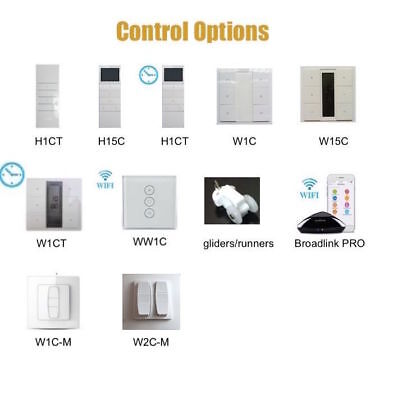 Control Option for Curtain Tracks / Blind(To be sold with curtain track)