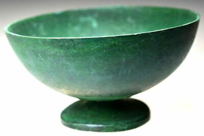 Roman Bronze Ceremonial Bowl