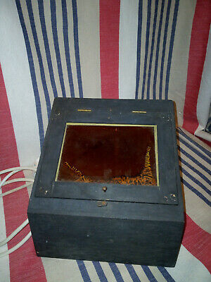 Vintage Wooden Dark Room Light Box