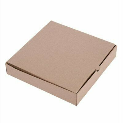 """Fiesta Compostable Plain Pizza Boxes 9"""" (Pack of 100) (Pack of 100) DC723 [393W]"""