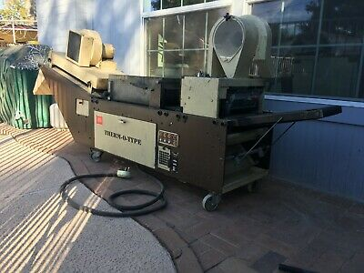 Therm-o-type 450 comes with catalog, GOOD CONDITION!