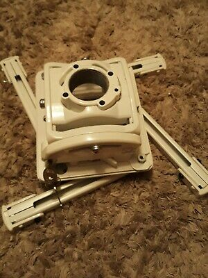 Chief RPM WHITE RPA Elite Universal Projector Ceiling Mount w/ Keyed Locking