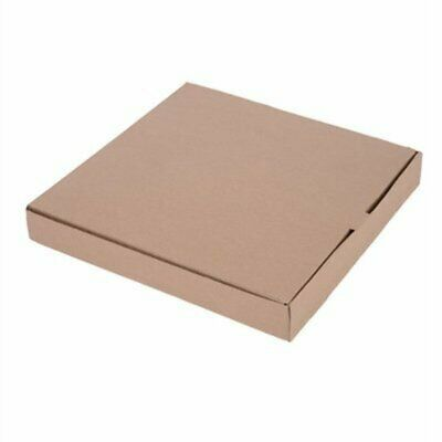 """Fiesta Compostable Plain Pizza Boxes 14"""" (Pack of 50) (Pack of 50) DC725 [T21L]"""