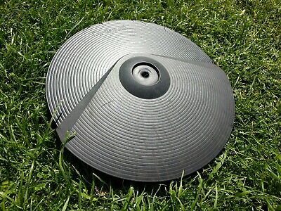 "Roland CY-8 12"" Electronic Dual Trigger Cymbal Pad For Electric TD Drum Kit"