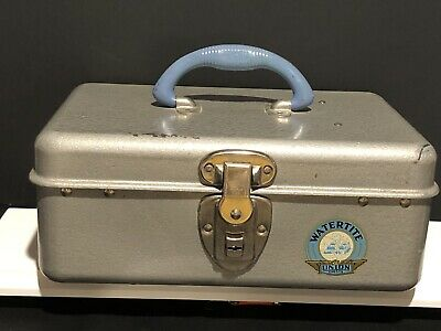 Vintage Watertite Union Chest, Tackel Box, Rare, HTF