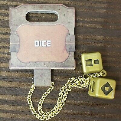 Disney Parks Star Wars Galaxy's Edge Han Solo Lucky Dice Chain Millennium Falcon