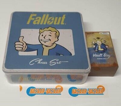 Fallout Chess Set Themed Set in A Tin