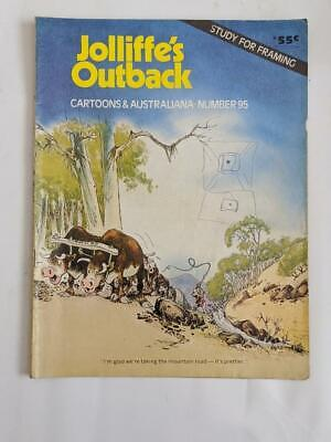 Jolliffe's Outback 95 - Cartoons and Australiana. 1974 - cover scribble