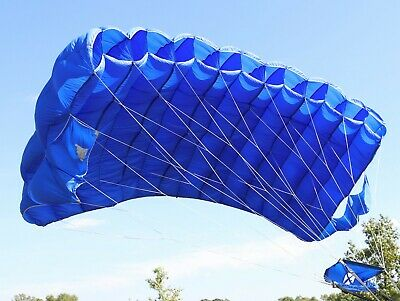 Cruisair 7 cell skydiving parachute canopy - 200 sq ft - complete