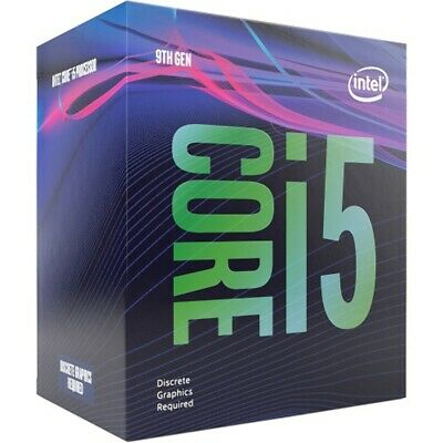 Intel Core I5-9400F, 6 Cores, 2.90 GHz, 9 MB Cache, LGA1151 Socket, 6 Threads Pr