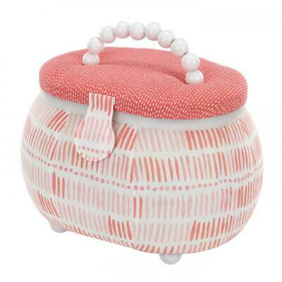 Sewing Basket- With Handle - Oval Shape Brand New