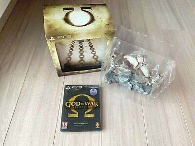 Jeux PS3 God of War Ascension édition spéciale Collector avec figurine PAL FR