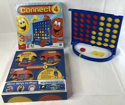 CONNECT 4 Four (Revised Edition) Board Game - 2008 Hasbro