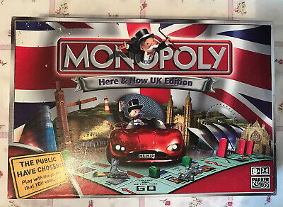 Monopoly – Here & Now Uk Edition 2007 - Parker Board Game Complete