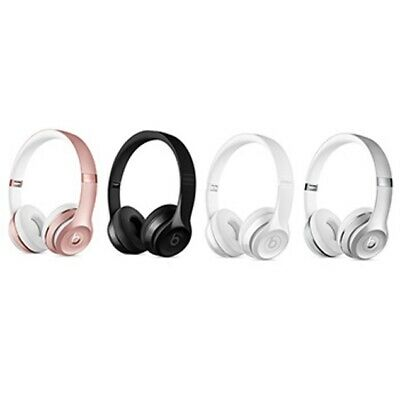 Authentic Beats by Dr. Dre Solo 3 Wireless On-Ear Headphones Black Rose Gold