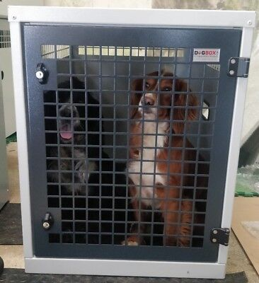 Dog Box UK Single Dog Transportation Box Crate K9 DB9 L200 Ranger Van