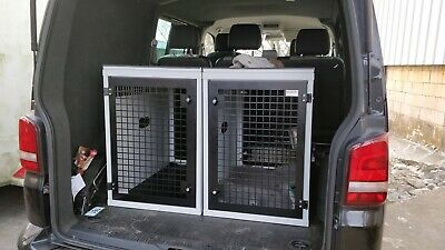 Dog Box UK Large Single Dog Transportation Box K9 VW Transporter