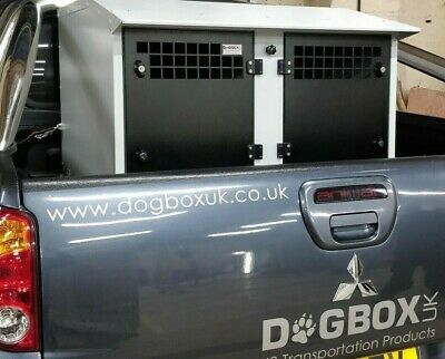 Dog Box UK Dog Transportation Box Crate Weatherproof Model L200 Ranger Hilux