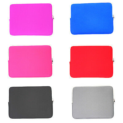 15 Laptop Notebook sleeve carry case for Acer HP Lenovo MSI Macbook Dell Asus