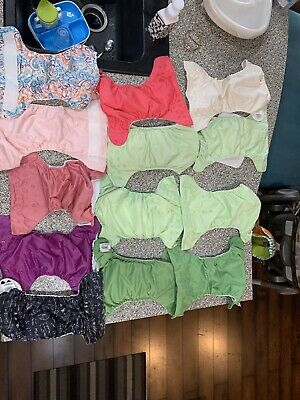 14 bumgenius Cloth Diapers Lot One Size OS