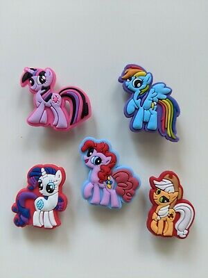My Little Pony Unicorn Crocs / Mule / Clog Shoe Charms  / Cake Toppers Us Seller