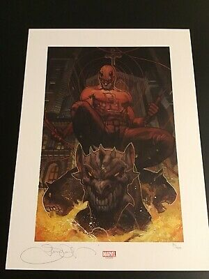 AWESOME 11X17 SIGNED BY EBAS WOLVERINE Vs SABRERTOOTH ART PRINT