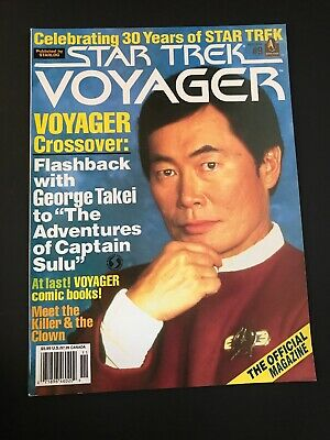 Vintage star trek voyager magazine Nov. 1996 Back Issue # 9