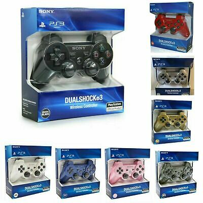UK Bluetooth Dualshock3 Wireless Controller Gamepad Joystick for PlayStation PS3