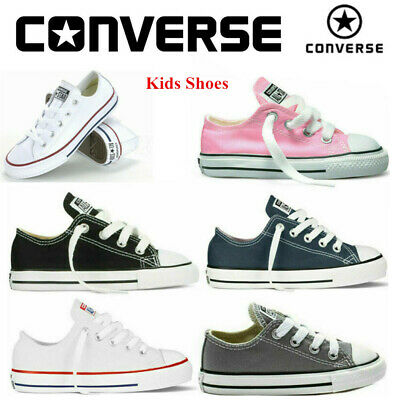 Kids Converse Sneakers Child Canvas Shoes Boys Girls All Star Low Top Trainers
