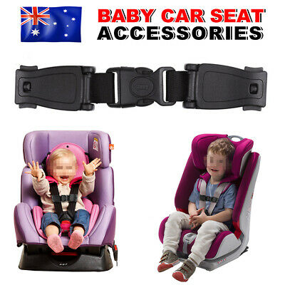 Baby Car Safety Seat Belt Strap Clip Harness Buckle Child Buggy Lock Chest OZ