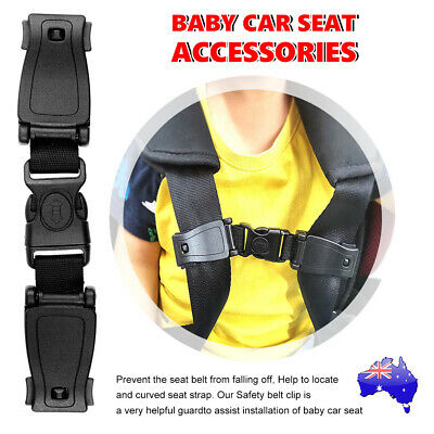 Baby Car Safety Seat Strap Harness Clip Chest Child Toddler Buggy Buckle Lock AU