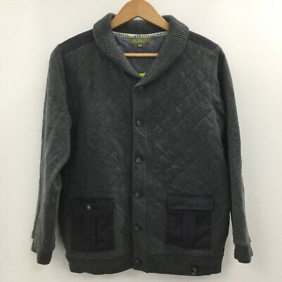 TED BAKER Blue Quilted Warm Cotton Wadded Jacket Boys Age 13 - 14 TH370393