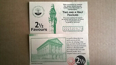 2 1/2  Favour Calderdale Local Currency Banknote - Uncirculated