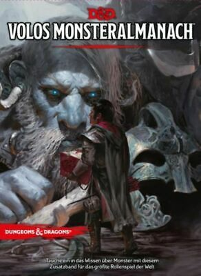Dungeons & Dragons Volos Almanac Der Monster 5th Edition (German) D & D Book