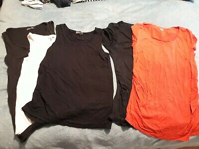 Maternity tops Tshirt Bundle HnM Gap Next Boohoo 10 12