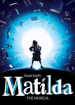 Matilda the Musical Poster A4 A3 A2 A1 Gift Present AS0152