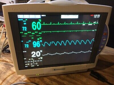 Nihon Kohden BSM 6701A touch screen patient monitor. Good condition, guaranteed.