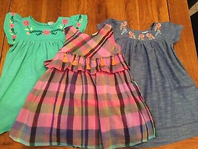 Next Girls Summer Dresses X 3 Age 18/24 Months