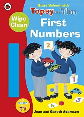 Start School with Topsy and Tim: Wipe Clean First Numbers New Paperback Book