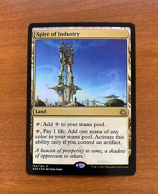 Land Aether Revolt Mtg Magic Rare 1x x1 1 Spire of Industry