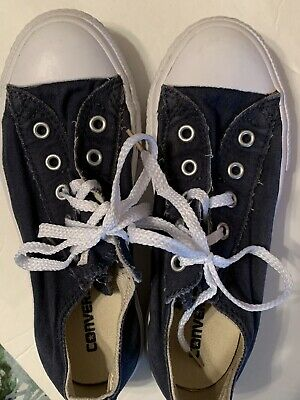 Converse Unisex All Star Oxford Sneakers SHARKSKIN Girls Boys Youth Size 11
