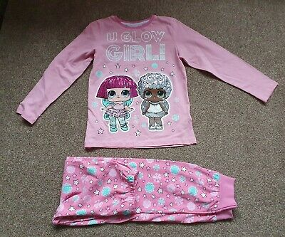 ☆☆Bnwot Primark LOL Surprise Dolls Girls Pyjamas Kids Nightwear Age 8-9 Years ☆☆