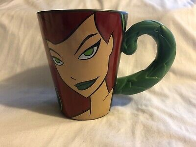 Poison Ivy collectors mug, Batman animated, WB Studio Store 2000