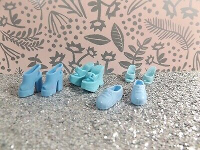 Barbie Doll Shoes Pairs x4. Cuteness